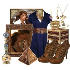 The Egyptologist Librarian by sayrabeth on Polyvore featuring Forever 21, Miss Selfridge, ASOS and Topshop