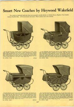 1931-ADVERTISEMENT-Haywood-Wakefield-Baby-Carriage-Buggies-Coach-Buggy
