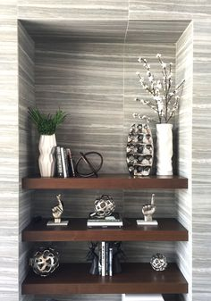 Staging 101 shelving asymmetry symmetry Interior Design Services, Staging, Shelving, Entryway Tables, Interior Decorating, Projects, Furniture, Home Decor, Drawing Room Interior