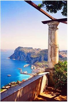 Capri Italy, I remember walking to this spot and wow, what a view.