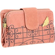 Dang this is cute! I am constantly in search of the perfect wallet...and purse...and case for my phone/iPod...