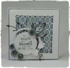 Hello - thank you for visiting my shop! All my greeting cards are made with the finest quality card stock and embellishments. All cards are placed inside a clear cellophane pocket bag and shipped in padded protected packaging. Card is 5.5 x 5.5 and comes with an envelope.  BLANK CARDS The inside of most of my cards is left blank containing an additional piece paper added for your message. Id be happy to add your own special greeting, (be it a special verse, sentiment, memory or personal…