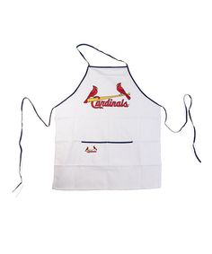 Take a look at this St. Louis Cardinals Team Apron by Motorhead Products on #zulily today! $14 !!