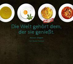 """""""Die Welt gehört dem, der sie genießt."""" Giacomo Leopardi Breakfast, Tableware, Foods, Drinks, Food And Drinks, Baking, World, Morning Coffee, Food Food"""