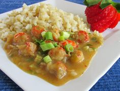 Crawfish Etouffee - Louisiana Seafood at it's best! Perfect for Mardi gras or any day of the year. This is a family favorite recipe of juicy little crawfish tales smothered in an authentic Cajun sauce. You gotta try this!