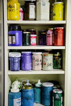 the color closet!