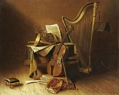 historical post impressionist paintings | Music / American Paintings Prints and Posters - Global Gallery