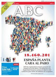 La portada de ABC del jueves 4 de enero