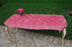 pink bench - Google Search