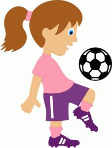 1000 Images About Soccer On Pinterest Clip Art Girl