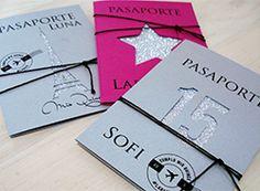 Invitations, Paris, Weddings, Birthday, Ideas, World, Handmade Cards, Invitation Cards, Passport Invitations