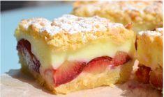 Švestkový koláč s pudinkem vás dostane. Je naprosto výborný – zkuste ho - Recipe For Lemon Coconut Cake, Hazelnut Butter, Different Cakes, Shredded Coconut, Food Cakes, Cake Pans, Quick Easy Meals, Food Videos, Cake Recipes