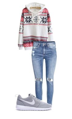"""""""Simple school outfit"""" by mercedes-designs on Polyvore featuring H&M"""