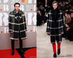 Brooklyn Beckham en Burberry - The BRIT Awards 2017