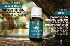 Young Living Essential Oils- better health...naturally!  nyoilslady.com Rosemary