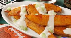 Buffalo Potato Wedges | Recipe on idahopotato.com