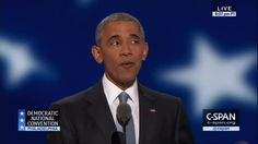 WATCH OBAMA REFER TO HIMSELF 119 TIMES DURING HILLARY NOMINATING SPEECH 'I was so young that first time' Jul 28, 2016