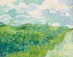 "Vincent van Gogh's ""Green Wheat Fields, Auvers"""