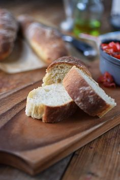 Baguette mit Bruschetta - Quick Baguette with Bruschetta (4)