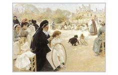 Imagenes de las obras del pintor finlandés Albert Edelfelt
