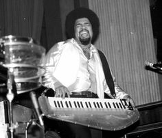 George Duke (January 1946 -- August was an American musician, known as a keyboard pioneer, composer, singer and producer in both jazz and popula. Jazz Artists, Jazz Musicians, Radios, Sly Stone, George Duke, Bootsy Collins, Parliament Funkadelic, Police Activities, Artists