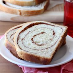 Soft and flavorful cinnamon swirl bread