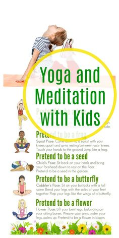 Yoga and Meditation with KidsYou can find Kid yoga and more on our website.Yoga and Meditation with Kids Yoga Meditation, Yoga Flow, Meditation Space, Yoga For Kids, Exercise For Kids, Kids Yoga Poses, Kids Workout, Stretches For Kids, Children Exercise