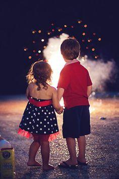 Firework and Sparkler