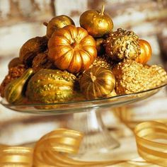 Gilded Gourds