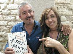 """Nieves y Javier, amigos de Alicante que eligen """"A seis pasos de ti"""". Gracias!!!!!"""