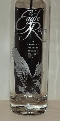 EAGLE RARE BOURBON Glass Bottle Incense BurnerGreat by CanDezign, $15.00