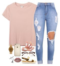 """""""- """" by beautiful-sinnerr ❤ liked on Polyvore featuring Monki, ALDO, Ray-Ban, American Apparel, Lime Crime, DOPE and trill"""