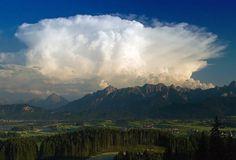 Cumulonimbus Capillatus This umbrellas category includes any towering vertical cloud with a high cirriform top