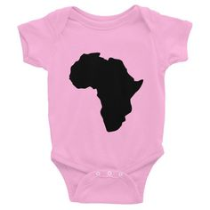 Africa Infant short sleeve one-piece