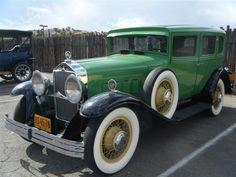1930 Willys Knight Model 66B Sedan