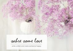 """Share Some Love – Write a Thank You Letter."" Hmm.. Why not do this today :-) #christinagreve"