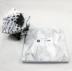 Papierbögen - ORIGAMI PAPIER MUSTER 21x21 - ein Designerstück von almaink bei DaWanda