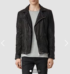 Eying this up for months now | #allsaints #leather #jacket
