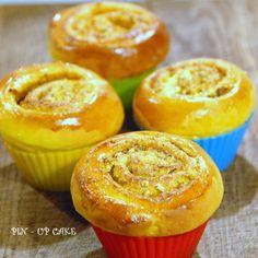 PIN - UP CAKE: Dyniowe szneki z pistacjami