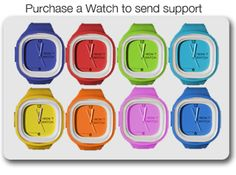 I wuvvvvv my flex watch! 10% goes to charity, depending on the color that you purchase!