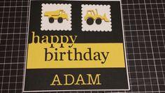 Boys birthday card.