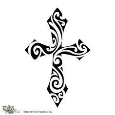 Maori style cross