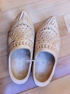 Dutch wedding clogs- I had a pair for my wedding from Matt's gramma!