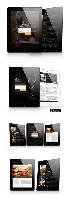 Lot18 Wine Mobile App Information Architecture, Interaction Design, UI/UX