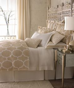Master bed design inspiration - Garrison Hullinger Interior Design #AmericanDreamSOD