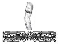 Male Arm Band Tatto Design