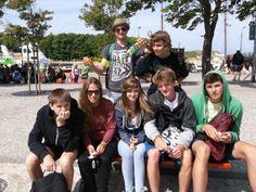 Obozowicze z Ustronia Morskiego #UstronieMorskie #obozy #wakacje