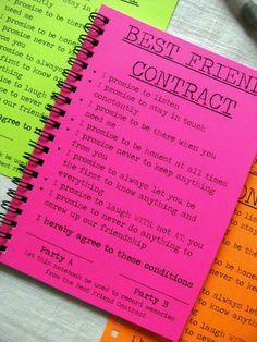 The best friend contract my best friend 3 pinterest bff first page of smashbook thecheapjerseys Gallery
