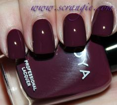 Zoya Toni // I've got a lemming for this decadent color