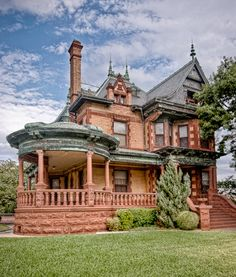 Ball-Eddleman-McFarland House, Fort Worth, Texas. Open for tours.